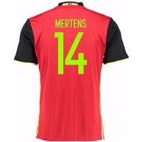 2016-2017 Belgium Home Shirt (Mertens 14)