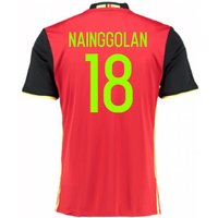 2016-2017 Belgium Home Shirt (Nainggolan 18)