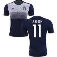 2016-2017 Sweden Away Shirt (Larsson 11)