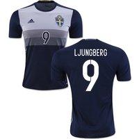 2016-2017 Sweden Away Shirt (Ljungberg 9)