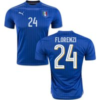 2016-2017 Italy Puma Home Shirt (Florenzi 24)
