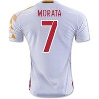 2016-2017 Spain Adidas Away Shirt (Morata 7)