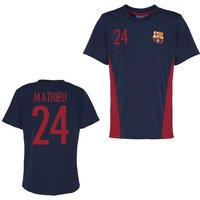 Official Barcelona Training T-Shirt (Navy) (Mathieu 24)
