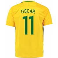 2016-17 Brazil Home Shirt (Oscar 11)