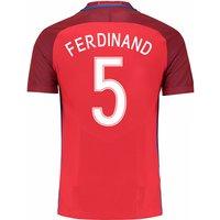 2016-17 England Away Shirt (Ferdinand 5) - Kids