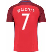 2016-17 England Away Shirt (Walcott 7) - Kids