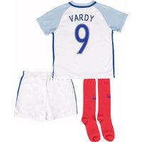 2016-17 England Home Little Boys Kit (Vardy 9)