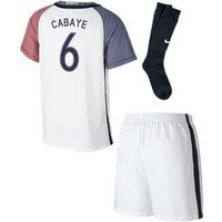 2016-17 France Away Little Boys Kit (Cabaye 6)