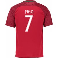 2016-17 Portugal Home Shirt (Figo 7) - Kids