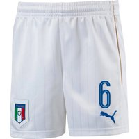2016-17 Italy Home Shorts (6) - Kids
