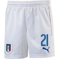 2016-17 Italy Home Shorts (21) - Kids