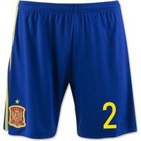 2016-17 Spain Home Shorts (2)