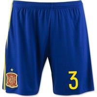 2016-17 Spain Home Shorts (3)