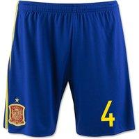 2016-17 Spain Home Shorts (4) - Kids