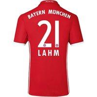 2016-17 Bayern Home Shirt (Lahm 21)