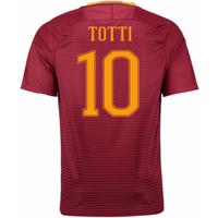 2016-17 Roma Home Shirt (Totti 10) - Kids