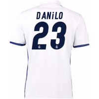 2016-17 Real Madrid Home Shirt (Danilo 23) - Kids