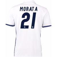 2016-17 Real Madrid Home Shirt (Morata 21) - Kids