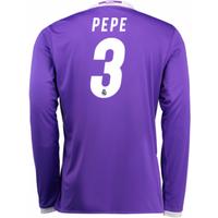 2016-17 Real Madrid Away Shirt (Pepe 3) - Kids