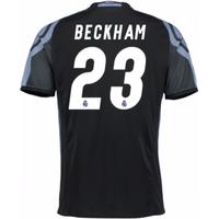 2016-17 Real Madrid 3rd Shirt (Beckham 23) - Kids