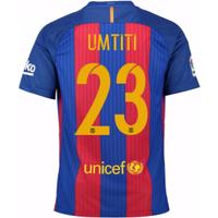 2016-17 Barcelona Home Shirt (Umtiti 23) - Kids