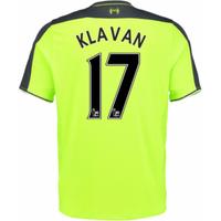 2016-17 Liverpool 3rd Shirt (Klavan 17) - Kids