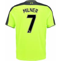 2016-17 Liverpool 3rd Shirt (Milner 7) - Kids