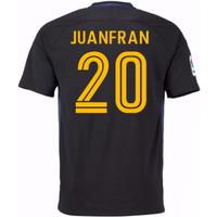2016-17 Atletico Madrid Away Shirt (Juanfran 20) - Kids