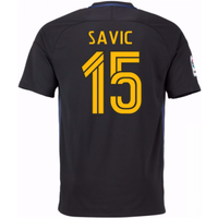 2016-17 Atletico Madrid Away Shirt (Savic 15) - Kids