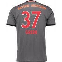2016-17 Bayern Munich Away Shirt (Green 37) - Kids