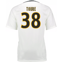 2016-17 Monaco Away Shirt (Toure 38) - Kids