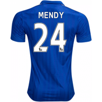 2016-17 Leicester City Home Shirt (Mendy 24) - Kids