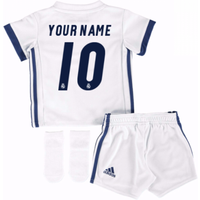2016-17 Real Madrid Home Baby Kit (Your Name)