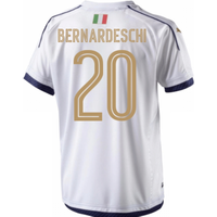 2006 Italy Tribute Away Shirt (Bernardeschi 20) - Kids