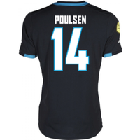 2016-17 Psv Eindhoven Away Shirt (Poulsen 14) - Kids
