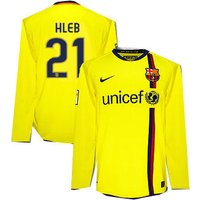 08-09 Barcelona L/S away (Hleb 21)