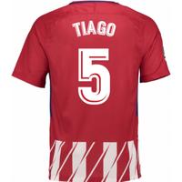 2017-2018 Atletico Madrid Home Shirt (Tiago 5) - Kids