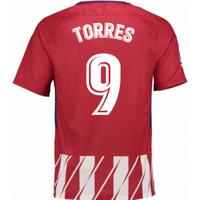 2017-2018 Atletico Madrid Home Shirt (Torres 9) - Kids