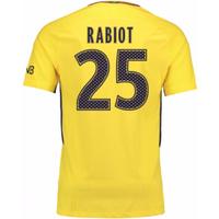 2017-18 PSG Away Shirt (Rabiot 25) - Kids