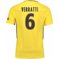2017-18 PSG Away Shirt (Verratti 6) - Kids