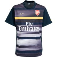 08-09 Arsenal Subliminated Top (navy)