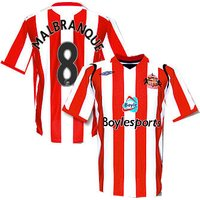 08-09 Sunderland home (Malbranque 8)
