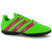 Adidas Ace 16.4 Mens Astro Turf Trainers (Solar-Green)