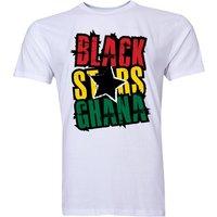 Ghana Black Stars T-Shirt (White)