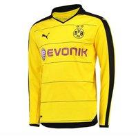 2015-2016 Borussia Dortmund Home Long Sleeve Puma Shirt