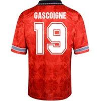 Score Draw England World Cup 1990 Home Shirt (Gascoigne 19)
