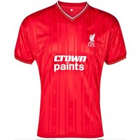 Score Draw Liverpool 1986 Home Shirt
