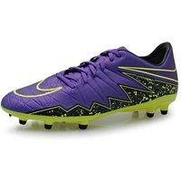 Nike Hypervenom Phelon FG Football Boots (Purple-Volt)