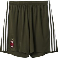 2016-2017 AC Milan Adidas Third Shorts (Green)