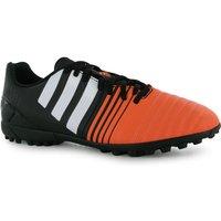 adidas Nitrocharge 4.0 Mens Astro Turf Trainers (Black-White-Flash)